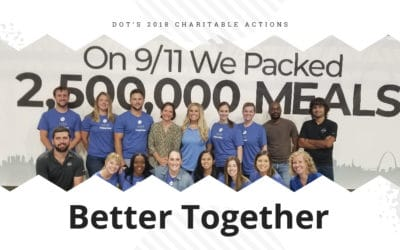 Better Together | Dot's 2018 Charitable Actions