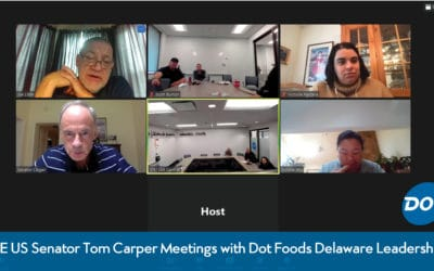 Dot Foods Delaware Leadership Speaks at Length with US Senator Tom Carper