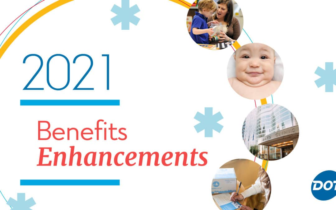 Open Enrollment: Five 2021 Benefit Enhancements You Don't Want to Miss