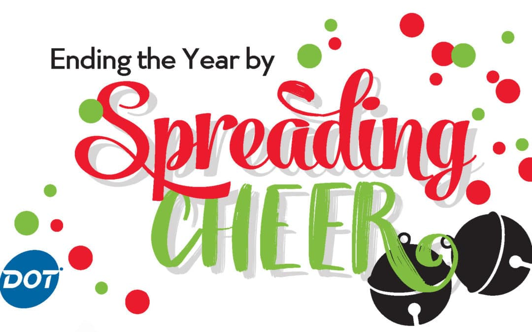 Teaming with Local Charities is Ending the Year by Spreading Cheer