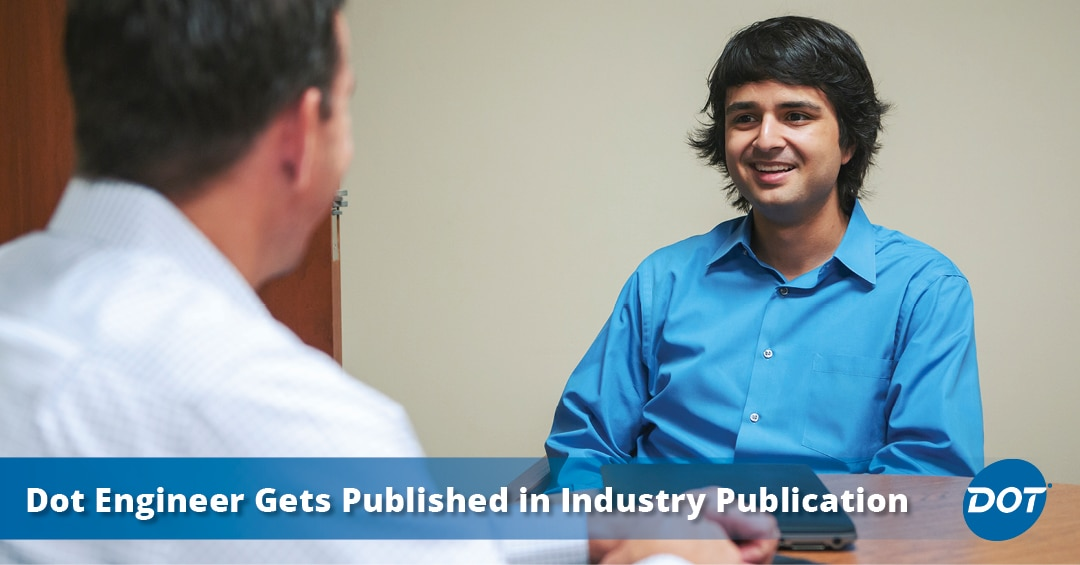 Dot Warehouse Operations Engineer Roland Vazquez-Molina Gets Published in Industry Publication